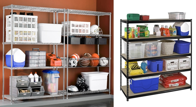Garage Shelving for Personal Items-